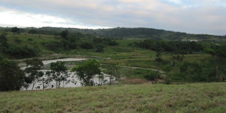lago de tras